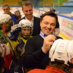 Андрей Воробьев оценил ремонт Дворца спорта в Электростали